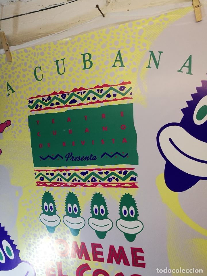 Carteles Espectáculos: Cartel teatro espectaculo comeme el coco negro--compañia la cubana sitges-barcelona 1989--- - Foto 5 - 156467662