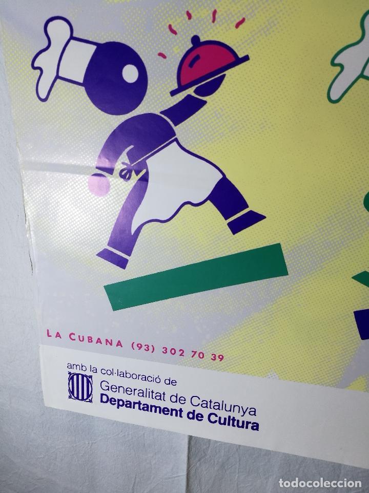 Carteles Espectáculos: Cartel teatro espectaculo cubanades a la carta--compañia la cubana sitges-barcelona 1989--- - Foto 4 - 139459778