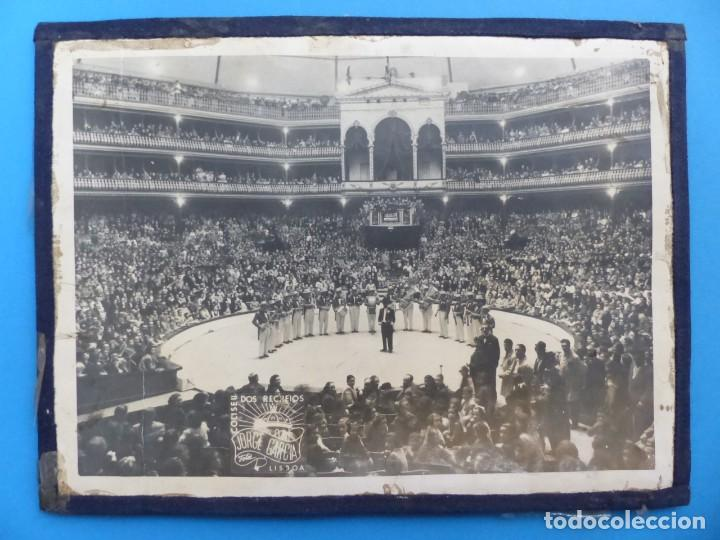 COLISEU DOS RECREIOS, JORGE GARCIA, LISBOA - ANTIGUA FOTOGRAFIA CIRCO - AÑOS 1950-60 (Coleccionismo - Carteles Gran Formato - Carteles Circo, Magia y Espectáculos)