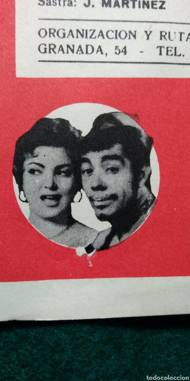 Carteles Espectáculos: CARTEL ANTONIO MOLINA .- ESPECTACULO CANTE 1967 - Foto 2 - 141427804