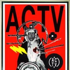Carteles Espectáculos: CARTEL DE FIESTA PASCUA DE DISCOTECA - A C T V - AÑO 1996 .TAMAÑO 68X46 CMS. Lote 242919815