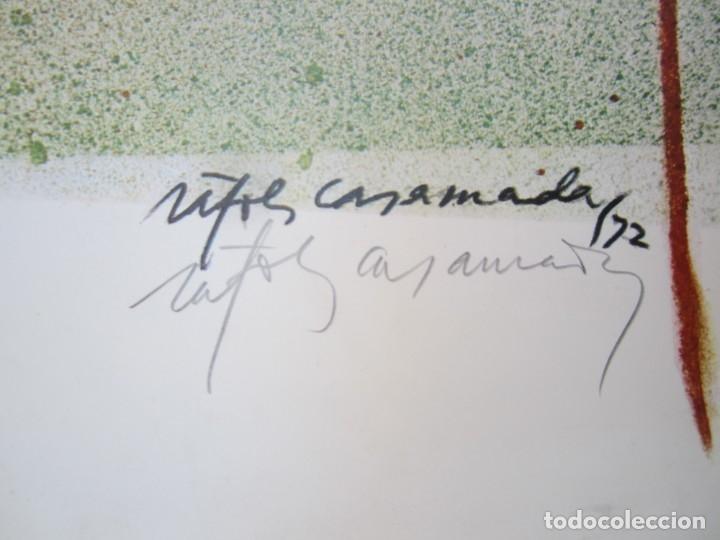 Carteles Espectáculos: Cartel 4t Festival Internacional de Cadaqués, 1973, firmado por Albert Ràfols Casamada. 68x46cm - Foto 2 - 143260674