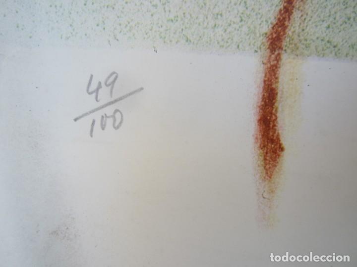 Carteles Espectáculos: Cartel 4t Festival Internacional de Cadaqués, 1973, firmado por Albert Ràfols Casamada. 68x46cm - Foto 3 - 143260674