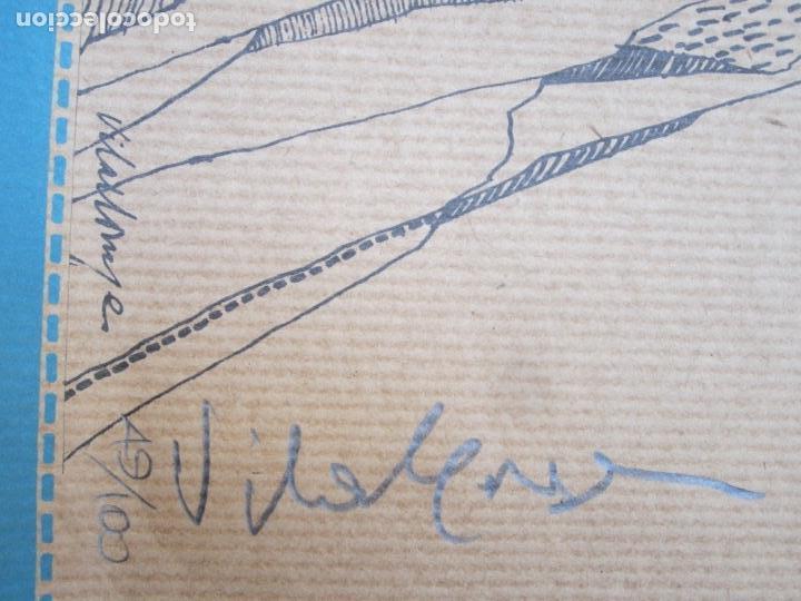Carteles Espectáculos: Cartel 5è Festival Internacional de Cadaqués: estiu 1974, firmado por el artista, 67,5x47,5cm - Foto 2 - 143280190