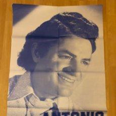 Carteles Espectáculos: CARTEL O POSTER DE TEATRO O ESPECTÁCULO ANTONIO MOLINA 1983. Lote 145352489