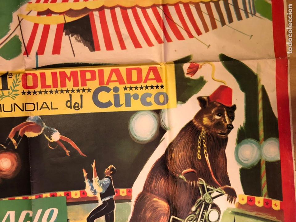 Carteles Espectáculos: Cartel o poster original espectáculo circo kron.arturo segura 105x74 cm - Foto 3 - 146370660