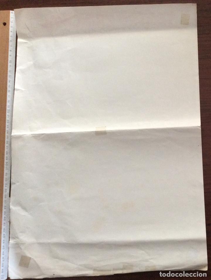 Carteles Espectáculos: CARTEL SARA MONTIEL. SUPER-SARA SHOW. 1980. TEATRO PRINCIPAL. ALICANTE. 35 x 50 CMS. - Foto 2 - 147526678