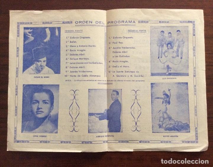 Carteles Espectáculos: GRUPO 3 CARTEL JUANITO VALDERRAMA, DOLORES ABRIL. 1960,1967,1971. TEATRO CERVANTES. MÁLAGA. - Foto 6 - 147530198