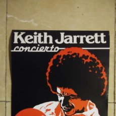 Affissi Spettacoli: CONCIERTO DE KEITH JARRETT EN EL AUDITÓRIUM DE PALMA DE MALLORCA. PIANISTA DE JAZZ.. Lote 184465283