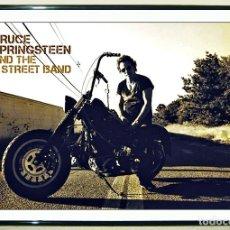 Carteles Espectáculos: BONITO POSTER DE - BRUCE SPRINGSTEEN - MOTORCYCLE - TAMAÑO 45 X 32 CMS. Lote 149398334