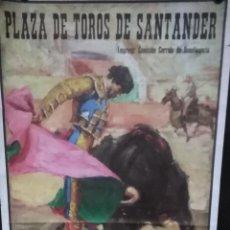 Carteles Espectáculos: CARTEL. PLAZA DE TOROS DE SANTANDER.1993.. Lote 152044670