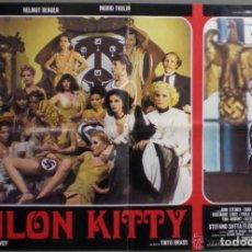 Carteles Espectáculos: PÓSTER ORIGINAL PELÍCULA SALON KITTY 1975. Lote 152691456