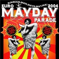 Carteles Espectáculos: MAYDAY BARCELONA MILANO 2004. Lote 237475035