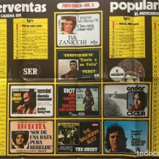 Carteles Espectáculos: 1974 CARTEL SUPERVENTAS 48,4X67,8 CM. Lote 153608406