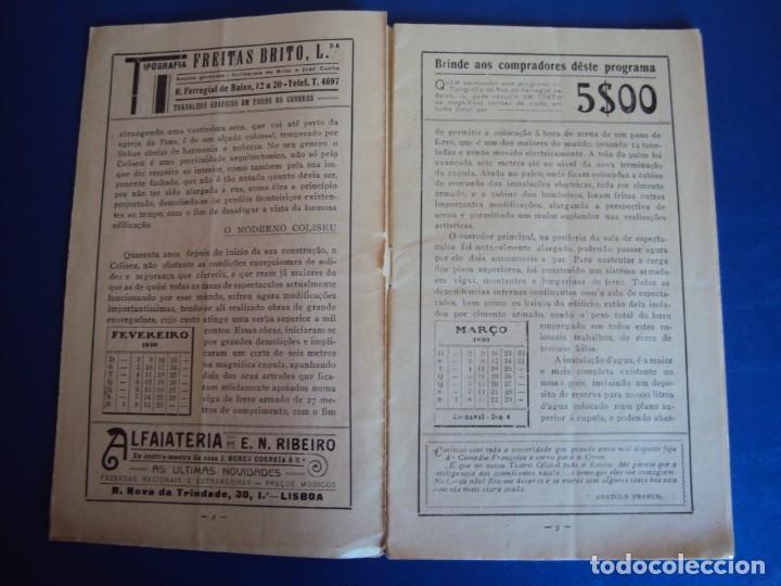 Carteles Espectáculos: (RE-190303)PROGRAMA CIRCO COLYSEU DOS RECREIROS TEMPORADA 1929-1930 - Foto 3 - 154265178