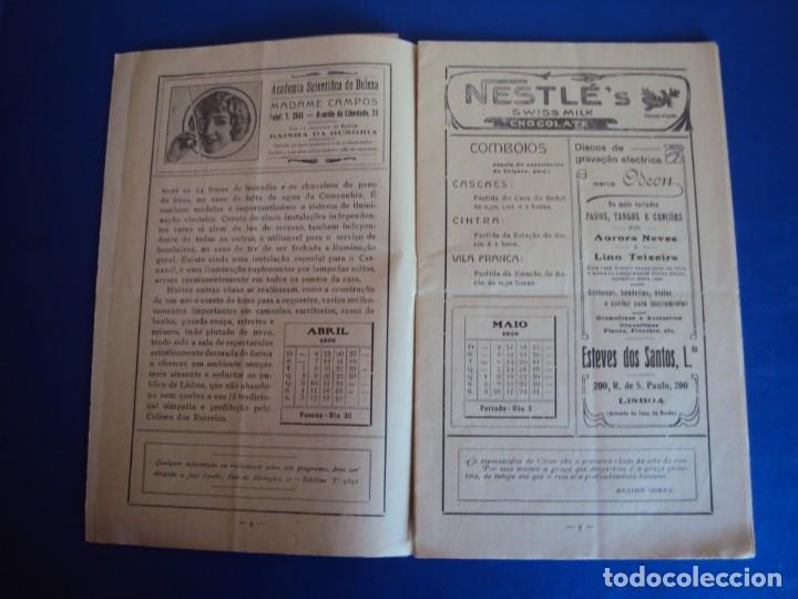 Carteles Espectáculos: (RE-190303)PROGRAMA CIRCO COLYSEU DOS RECREIROS TEMPORADA 1929-1930 - Foto 4 - 154265178