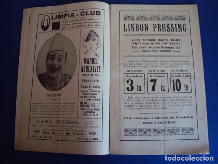 Carteles Espectáculos: (RE-190303)PROGRAMA CIRCO COLYSEU DOS RECREIROS TEMPORADA 1929-1930 - Foto 5 - 154265178