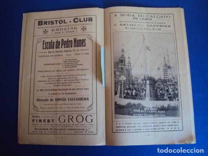 Carteles Espectáculos: (RE-190303)PROGRAMA CIRCO COLYSEU DOS RECREIROS TEMPORADA 1929-1930 - Foto 10 - 154265178