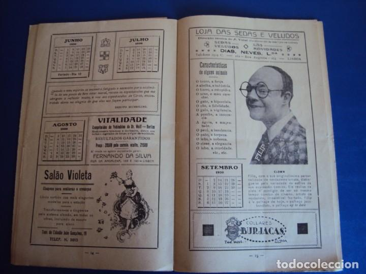 Carteles Espectáculos: (RE-190303)PROGRAMA CIRCO COLYSEU DOS RECREIROS TEMPORADA 1929-1930 - Foto 11 - 154265178