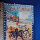 Carteles Espectáculos: (RE-190301)PROGRAMA OFICIAL ZOO CIRCUS. Lote 154264454