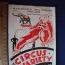 Carteles Espectáculos: (RE-190302)PROGRAMA CIRCUS VARIETY 1904-1929. Lote 154264810
