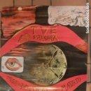 Carteles Espectáculos: CARTEL PUBLICITARIO XIV FESTIVAL EUROVISION.MADRID 1969. DISEÑADO POR DALI, IMPRESO POR FOURNIER. Lote 154661838