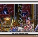 Carteles Espectáculos: POSTER DE GUPO - IRON MAIDEN - SOMEWHERE IN TIME - TAMAÑO 67 X 43,6 CMS. Lote 160193458