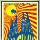 Carteles Espectáculos: POSTER - PINK FLOYD - 1988 - BARCELONA SPAIN -ESTADIO RCD ESPANOL - TAMAÑO 67X45,5 CMS. Lote 160392318