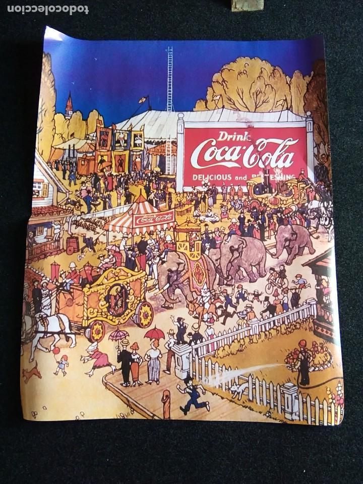 PÓSTER ANTIGUO COCA-COLA (Coleccionismo - Carteles Gran Formato - Carteles Circo, Magia y Espectáculos)
