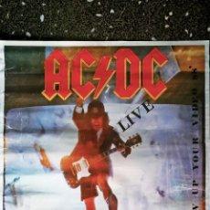 Carteles Espectáculos: POSTER DE - AC/DC - PROMO DE VIDEO - BLOW UP YOUR VIDRO- AÑO 1988- TAMAÑO 90X64 CMS. Lote 162525590