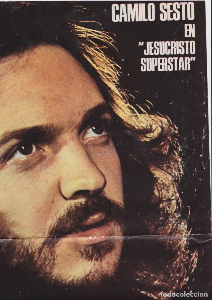 Camilo Sesto Póster De Jesucristo Superstar Sold Through Direct Sale 164173734