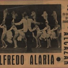 Carteles Espectáculos: CARTEL PLASTIFICADO TEATRO ALCAZAR DE MADRID - ALFREDO ALARIA - 3 NOVIAS PARA ROBERTO 1963. Lote 166785626