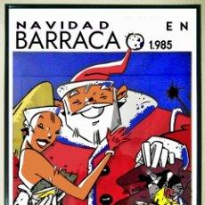 Affiches Spectacles: CARTEL DE DISCOTECA - BARRACA - FIESTA NAVIDADES AÑO 1985. TAMAÑO: 69 X 47 CMS. Lote 167888308