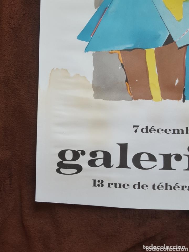 Carteles Espectáculos: CARTEL DE EXPOSICIÓN R LINDNER-GALERIE MAEGHT- PARÍS 1978 - Foto 2 - 172584754