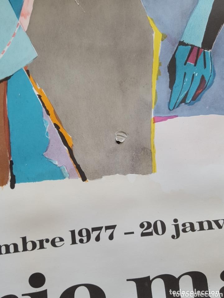Carteles Espectáculos: CARTEL DE EXPOSICIÓN R LINDNER-GALERIE MAEGHT- PARÍS 1978 - Foto 3 - 172584754