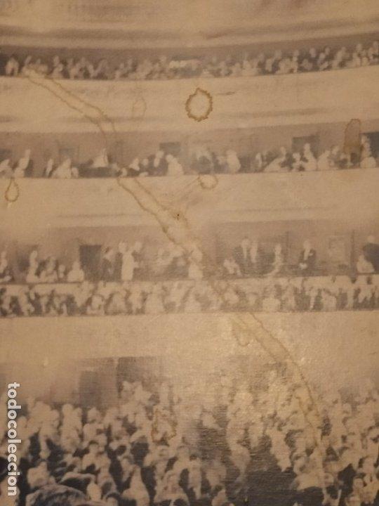 Carteles Espectáculos: UNiCO GRAN CARTEL OBRA CREO LOS TRES MOSQUETEROS PAPEL SOBRE TABLA GRAN LICEO BARCELONA ESPAÑA 97X65 - Foto 9 - 177497918