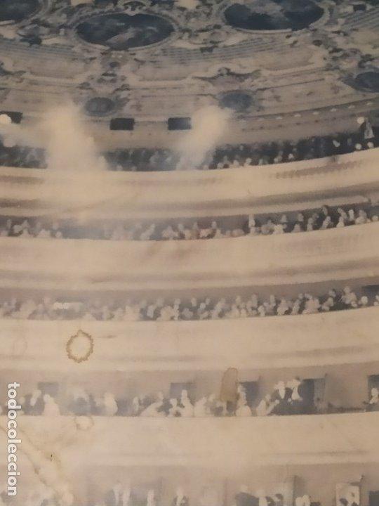 Carteles Espectáculos: UNiCO GRAN CARTEL OBRA CREO LOS TRES MOSQUETEROS PAPEL SOBRE TABLA GRAN LICEO BARCELONA ESPAÑA 97X65 - Foto 12 - 177497918