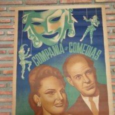 Carteles Espectáculos: COMPAÑIA DE COMEDIAS MARTI´ - PIERRA´,C-50A. Lote 178011219