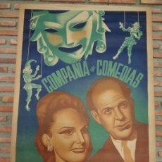 Carteles Espectáculos: COMPAÑIA DE COMEDIAS MARTI´- PIERRA´.C-50B. Lote 178048625