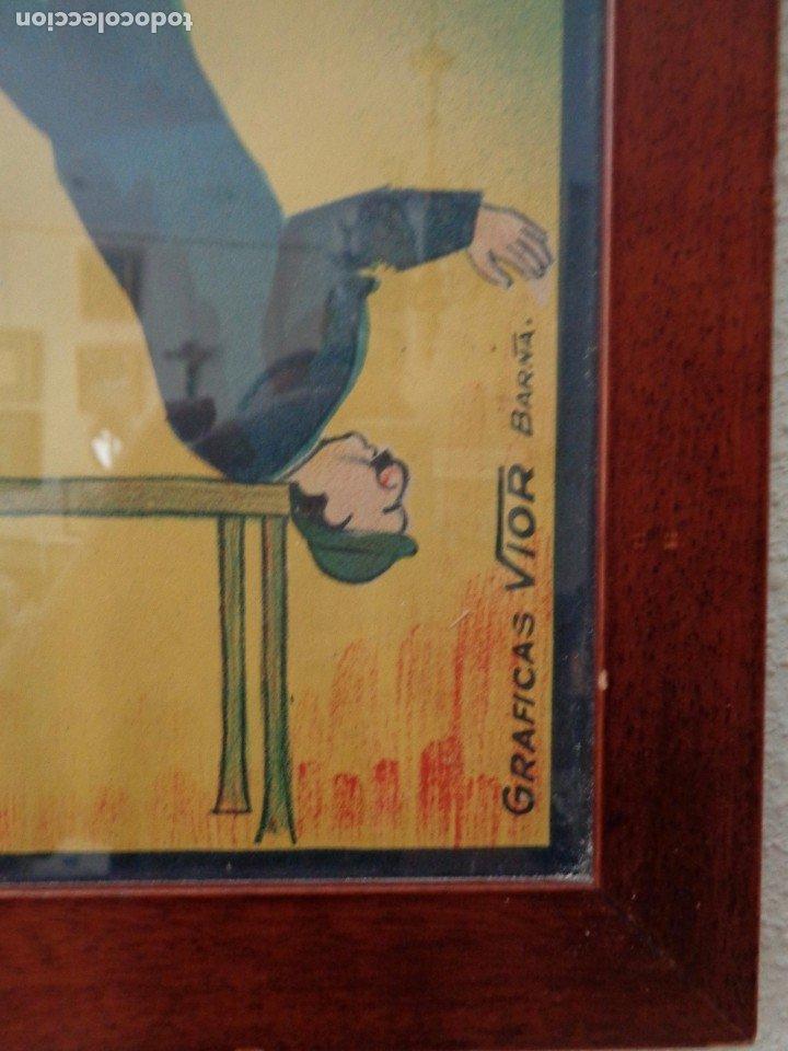 Carteles Espectáculos: CARTEL DE LA TROUPE SAWARTOS.BARCELONA SOBRE 1920 - Foto 3 - 178728327