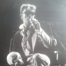 Carteles Espectáculos: DAVID BOWIE - CARTEL GIRA 1983 - TAMAÑO PÓSTER. Lote 180458516