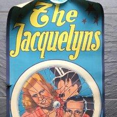 Carteles Espectáculos: CARTEL PÓSTER CIRCO - THE JACQUELYNS - GRAFICAS VIOR - BARCELONA CIRCA. Lote 187166933