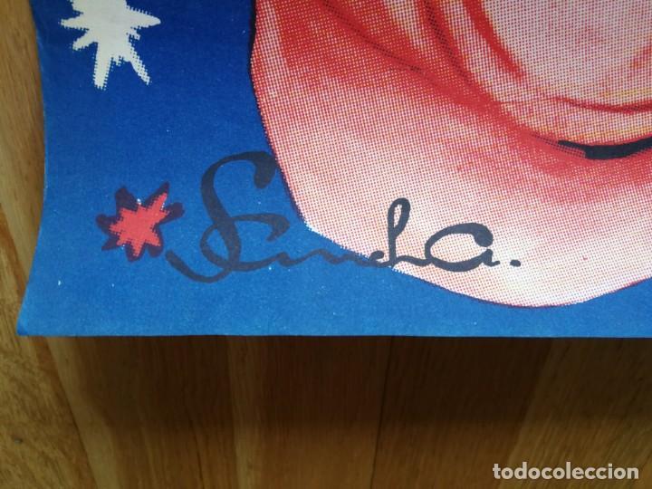 Carteles Espectáculos: Cartel póster 3 martini ( payasos de fama mundial) 39 cm x 111 cm muy buen estado 1961 - Foto 5 - 189489980