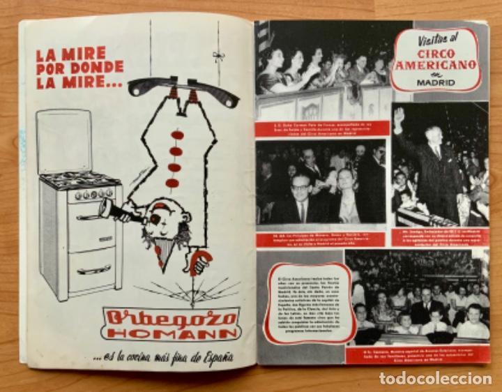Carteles Espectáculos: PROGRAMA REVISTA DEL CIRCO AMERICANO AÑO 1960 - Foto 4 - 190937661