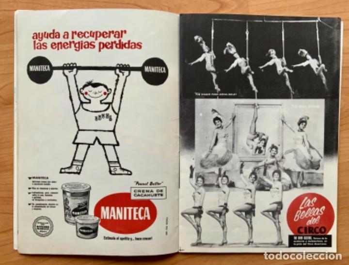 Carteles Espectáculos: PROGRAMA REVISTA DEL CIRCO AMERICANO AÑO 1960 - Foto 6 - 190937661