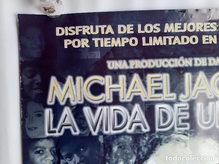 Carteles Espectáculos: POSTER MICHAEL JACKSON LA VIDA DE UN IDOLO CARTEL DOBLE REVERSO AYRTON SENNA FORMULA 1 98X68 CM. - Foto 4 - 191603076