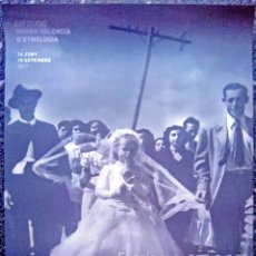 Carteles Espectáculos: CARTEL DE EXPOSICION FOTOGRAFICA - EL PAIS QUE FASCINA- JEAN DIEUZAIDE-TAMAÑO 70X50 CM. Lote 192511946