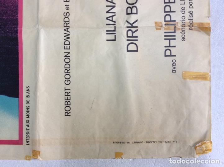 Carteles Espectáculos: Cartel original de 1974. Tamaño 160x120Cm de la película PORTERO DE NOCHE versión francesa - Foto 4 - 193386323