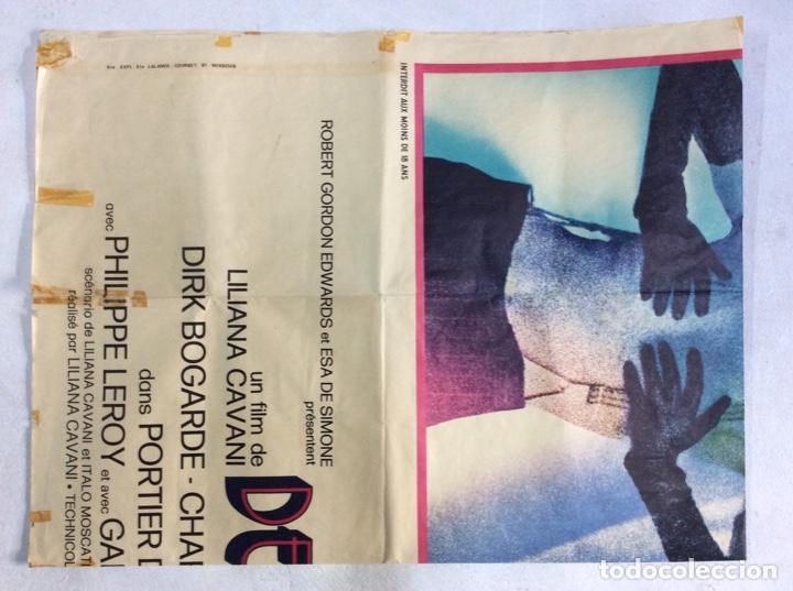 Carteles Espectáculos: Cartel original de 1974. Tamaño 160x120Cm de la película PORTERO DE NOCHE versión francesa - Foto 10 - 193386323