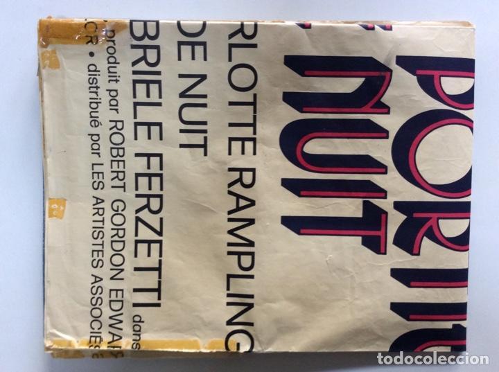 Carteles Espectáculos: Cartel original de 1974. Tamaño 160x120Cm de la película PORTERO DE NOCHE versión francesa - Foto 11 - 193386323
